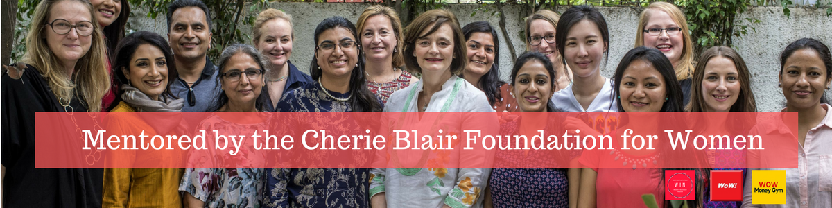 Mentored by the Cherie Blair Foundation for Women 1200 X 300