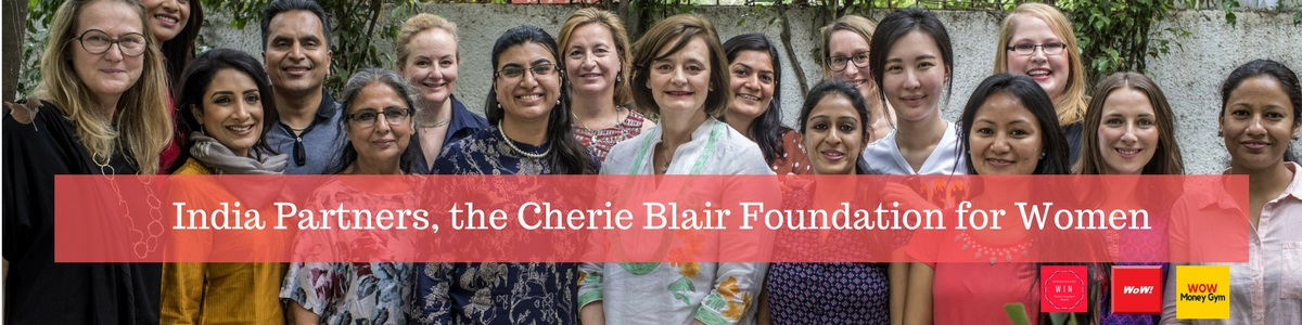 Women On Wealth, India Partners with The Cherie Blair Foundation for Women